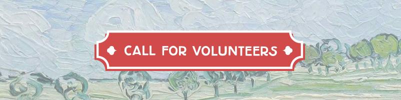 We zoeken vrijwilligers!